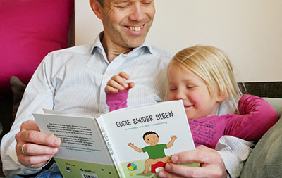 Far læser børnebog for Alice