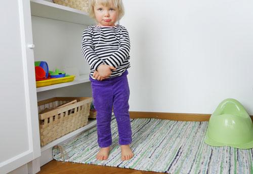 Barn vil ikke smide bleen – almindelige årsager